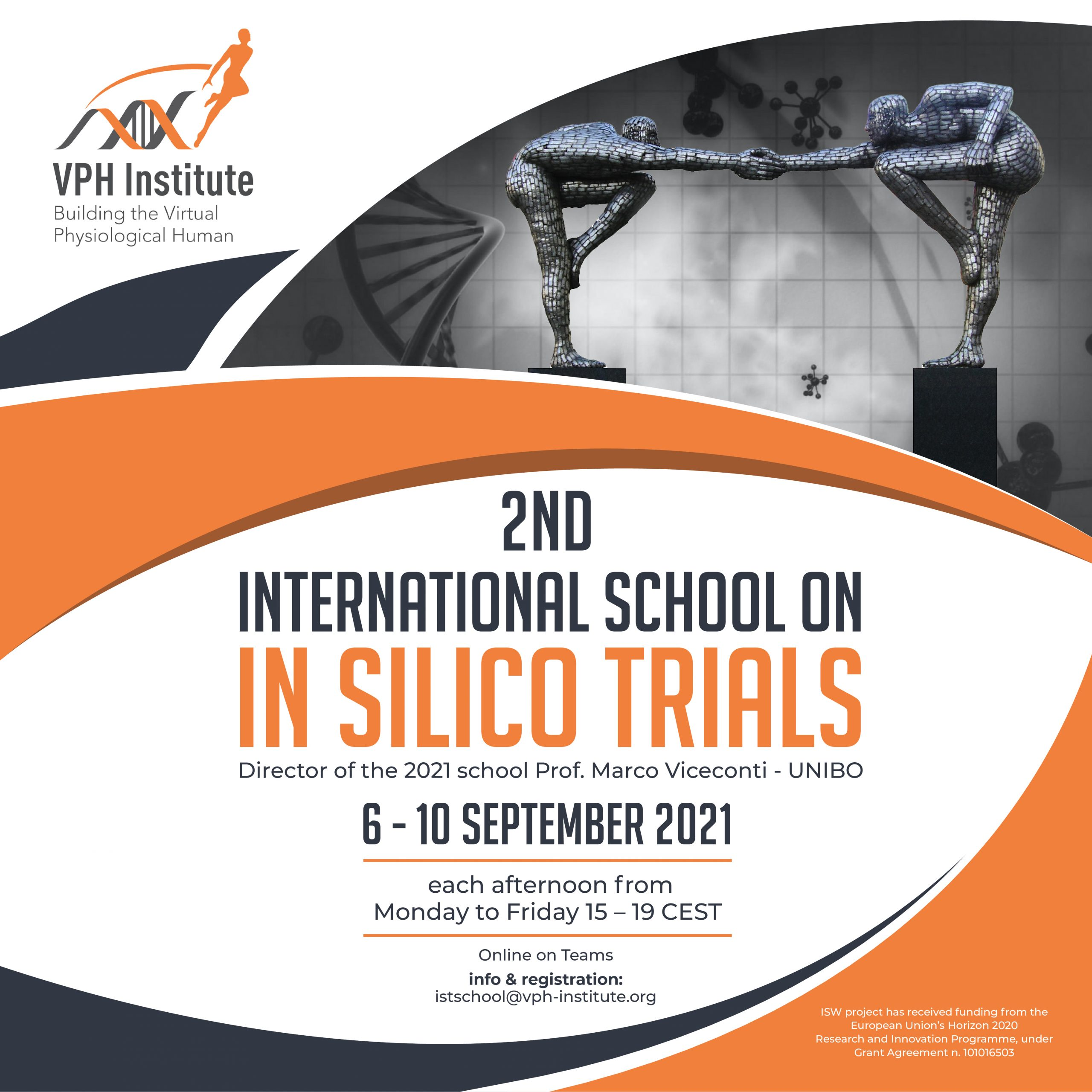 Insilico world - 2nd International School on In Silico Trials